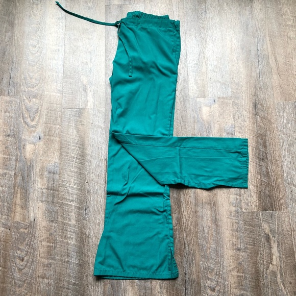 Cherokee Pants - Cherokee Forest Green Scrub Pants